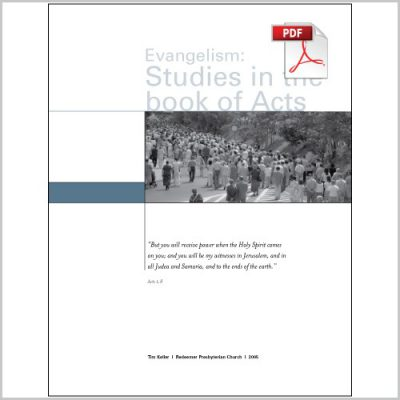 "<span itemprop=""name"">Evangelism: Studies in the Book of Acts &#8211; Group Study PDF Download</span>"