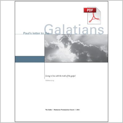 "<span itemprop=""name"">Galatians: Living in line with the Truth of the Gospel – Group Study PDF Download</span>"