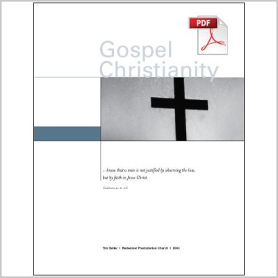 "<span itemprop=""name"">Gospel Christianity III: Gospel & the World – Group Study PDF Download</span>"