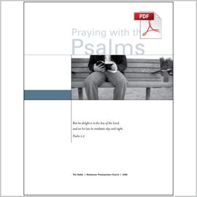 Praying with the Psalms - Group Study PDF Download - Gospel